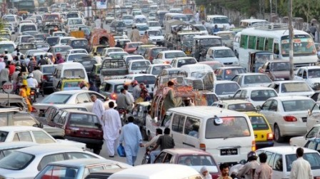 traffic chaos in lahore a public policy failure the express traffic in lahore is chaotic unruly and the roads are often jam packed photo seem nazir