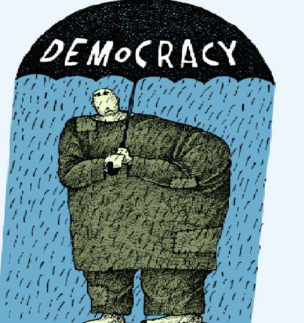 democracy and pakistan Democracy in pakistan• in the west, democracy means liberal democracy•  bundle of freedoms called constitutional liberalism.