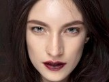 Blood-hued lips are the in thing this season. PHOTOGRAPH: ELLE