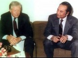 Agha with Jimmy Carter
