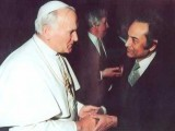 Agha meeting the Pope