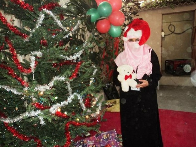 Image result for santa claus hijab