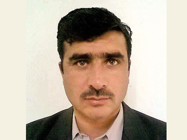 Abdul Wahab was an Express News reporter who was killed in a blast this month - Wahab-640x480-640x480