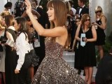 Olivia Wilde stole the show in a sparkly Marchesa gown