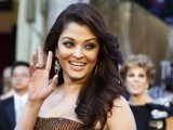 Bollywood actress Aishwarya Rai Bachan arrives at the 83rd Academy Awards in Hollywood. PHOTO: AFP
