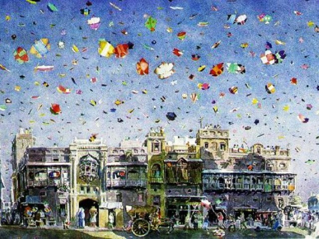 basant festival Basant festival of kites, also known as basant panchami, vasant panchami, saraswati puja or shree panchami, is a festival to celebrate the first day of spring.
