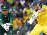 Australia's Steven Smith is bowled by Pakistan's captain Shahid Afridi as wicketkeeper Kamran Akmal reacts. PHOTO: REUTERS