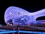 The Abu Dhabi Grand Prix takes place at the Yas Marina circuit.