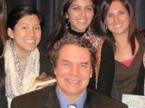 "A group of class fellows and I met Mortenson at a book signing event for ""Stones into Schools"" at the Steinbeck Center."