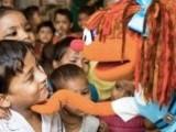 Sesame Street goes to India - Galli Galli Sim Sim.