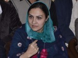 Here's to Marvi Memon, whose exit from the parliament is true to her own style of politics. PHOTO: SHAHID SAEED