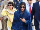 As happy as I am that she is Pakistan's first female Foreign Minister, I have to ask this question: could she not have done without the Hermes Birkin? PHOTO: AFP