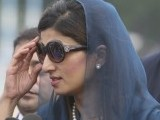 As happy as I am that she is Pakistan's first female Foreign Minister, I have to ask this question: could she not have done without the Hermes Birkin? PHOTO: REUTERS