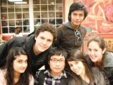 Pakistani, Chinese, Brazilian and Bolivian exchange students in New York 2010 PHOTO: ZOYA NAZIR