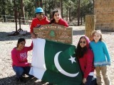 Pakistani Exchange group in Yes leadership summit, Arizona 2010 PHOTO: ZOYA NAZIR