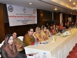 Women at the ceremony that launched the first Women Political Empowerment Program. PHOTO: US ALUMNI ISLAMABAD CHAPTER