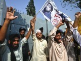Pakistan is a country where illiterate people are breaking private and public property to get a convicted murderer out of jail. PHOTO: REUTERS