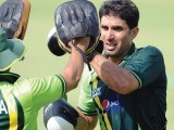 Pakistan captain Misbah-ul Haq is hoping his team can build on their recent good performance. PHOTO: AFP/FILE