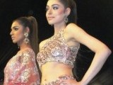 Bridal couture week showcased a comeback in mokesh and bright colours. PHOTO: MARIA UMAR