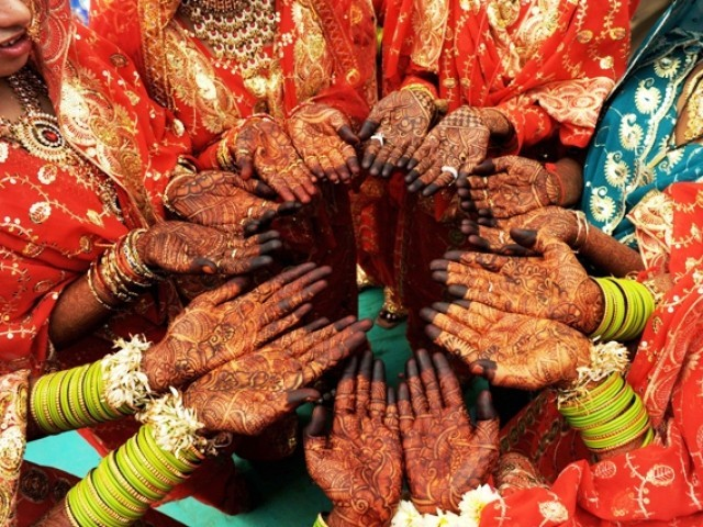 Mehndi Ceremony Food : Where did that desi wedding magic go the express