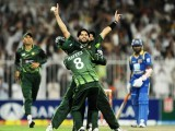 With strong players like Shahid Afridi, Younus Khan, and Umar Akmal, Pakistan can maintain its good rankings in the coming year. PHOTO: AFP