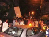 The Shahid Afridi Street has a celebration of its own every time the former captain performs for Pakistan. PHOTO: EXPRESS