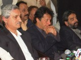 With many heavy weights in one party, the PTI will face constant strife over power and resources. PHOTO: ZAFAR ASLAM