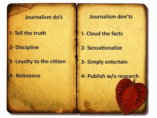 Image result for truthful journalism