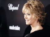 Actress Jane Fonda arrives at the The Weinstein Company after party following the 69th annual Golden Globe Awards in Beverly Hills, California January 15, 2012.  PHOTO: REUTERS