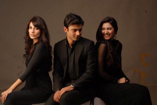 Humsafar khirad black dress
