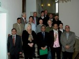 Group of German journalists who intend to visit Pakistan. PHOTO: ZUBAIR KHAN