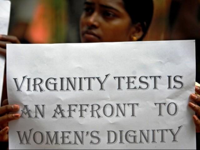 Virginity test for guys