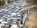 Living in Quetta and Karachi, I have often witnessed people becoming angry whenever a VIP comes to visit as all routes are sealed causing massive traffic snarl-ups. PHOTO: SHAHBAZ MALIK/EXPRESS
