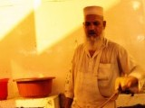 """The specialty of the karahi is the 'butter"""" it's cooked in. PHOTO: AREESH ZUBAIR"""