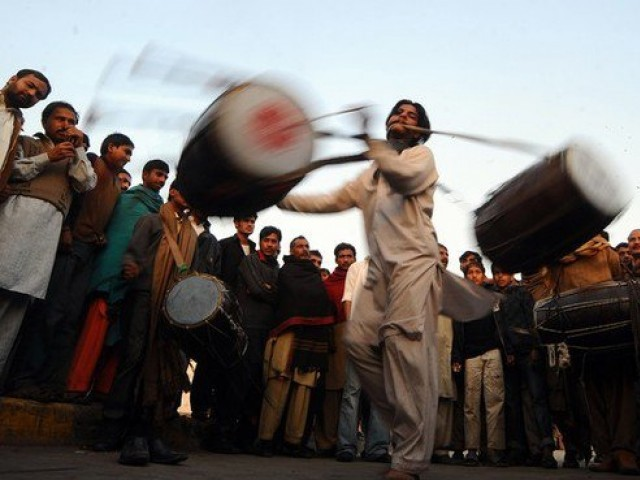 The dholaks, and the dance ─ sufism seeps pure and chaste through ...