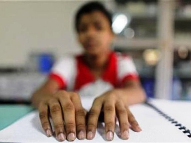 Classroom Design For Blind Students : I am blind not disgusting the express tribune