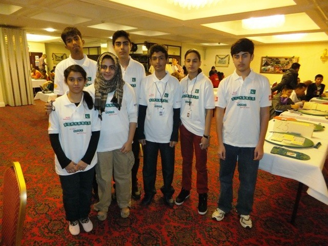 Pakistani Scrabble Team