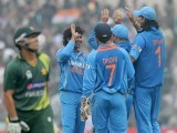 It was just a match and India won only one match of the ODI series but their joy was parallel to a World Cup victory. PHOTO: BCCI