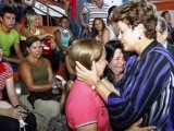 President Dilma headed straight for the town of Santa Maria to personally oversee the response and to comfort the families. PHOTO: REUTERS