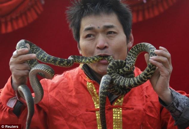 China People Eating Human