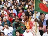 The Bangladeshi youth demands banning the Jamaat-e-Islami from politics and boycotting of institutions supporting or affiliated with Jamaat-e-Islami PHOTO: REUTERS