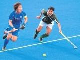 Pakistan against South Korea. PHOTO: AFP
