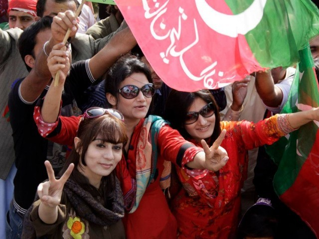 16638 ptirallyexpress 1364214472 270 640x480 Lahore Jalsa: PTI, ensure the safety of women if you want our support