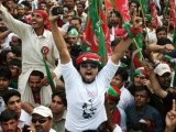 High time that Imran Khan directs the energy, idealism and adrenaline of his supporters to give birth to a Naya Pakistan in name, not just in theory. PHOTO: AFP