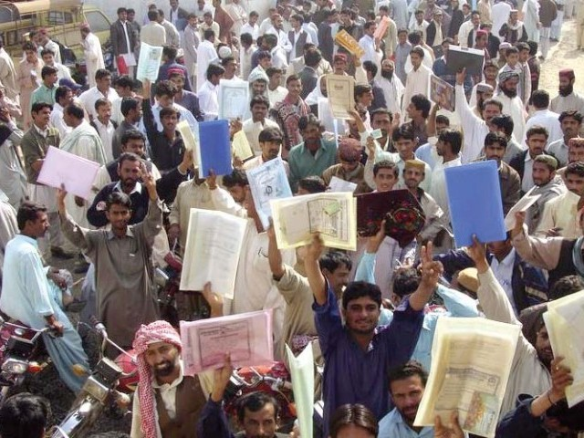 Image result for unemployment in punjab