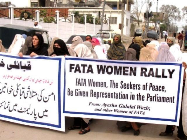 FATA women-protestPHOTOMUHAMMADIQBALEXPRESS-1361814400-431-640x480