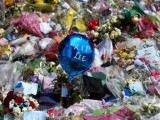 Flowers at the scene of the killing of Drummer Lee Rigby outside Woolwich Barracks in south-east London. PHOTO: AFP