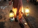 Despite living in a posh area of the capital of Khyber Pakhtunkhwa, there are unannounced/unscheduled power cuts. PHOTO: MUHAMMAD NOMAN/EXPRESS