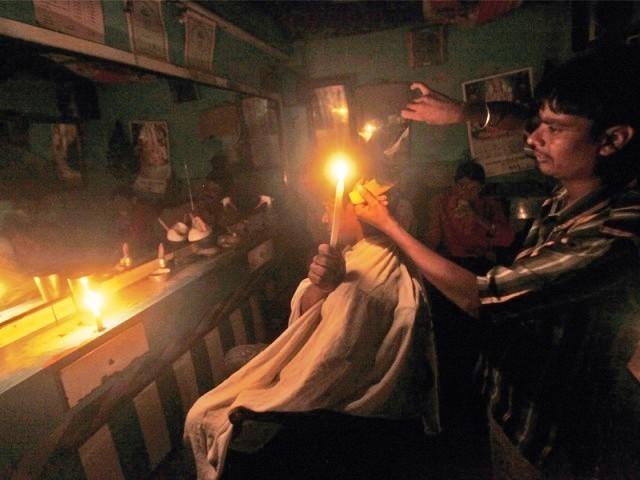 power cut (Reuters)