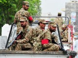 The Pakistan army is the only hope left and if given a chance, they can surely provide relief to Karachiites PHOTO: AFP